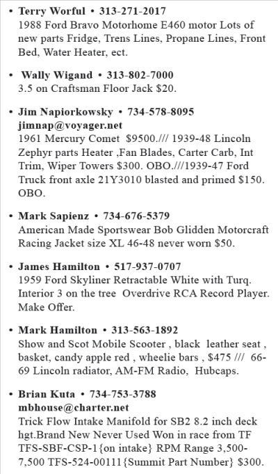 MARCH 2018 CLASSIFIEDS