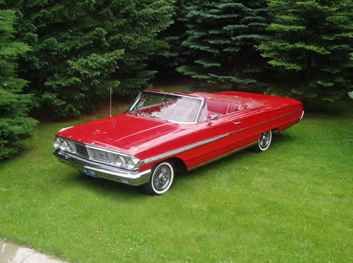 1964 Ford Galaxie 500 Convertible Tom Cazabon